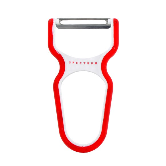 Spectrum Soft Touch Peeler Red