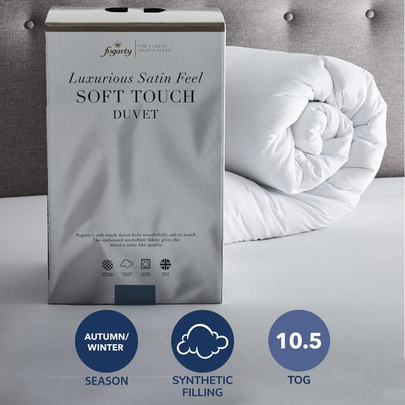 Fogarty Soft Touch 10.5 Tog Duvet  undefined