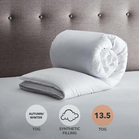 Fogarty Soft Touch 13.5 Tog Duvet White undefined