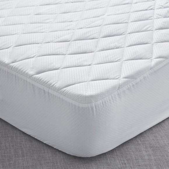 Fogarty Soft Touch Mattress Protector White undefined