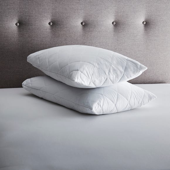 Fogarty Soft Touch Pair of Pillow Protectors White