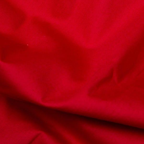 Plain Cotton Poplins Scarlet