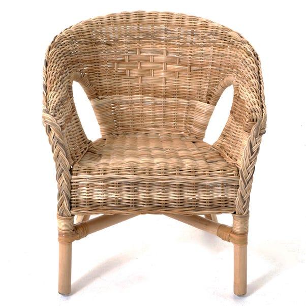 Kids Java Wicker Chair - Brown Natural (Brown)