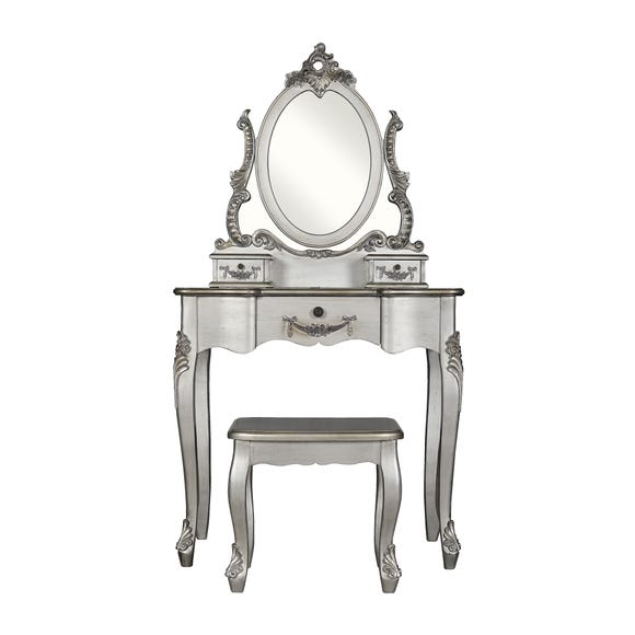 Toulouse Silver Dressing Table Set
