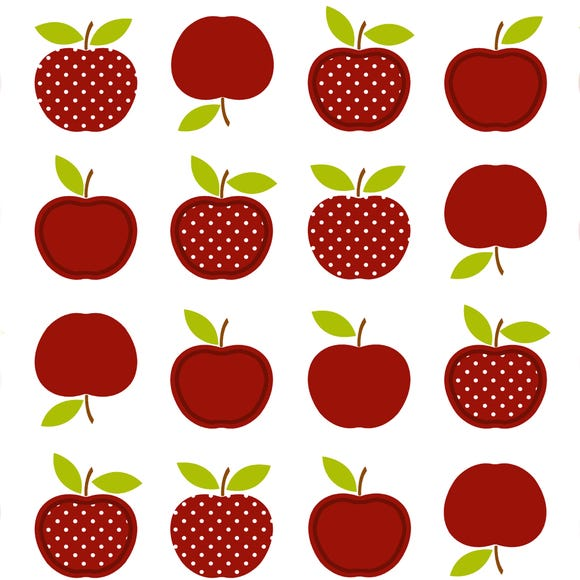Red Apples PVC