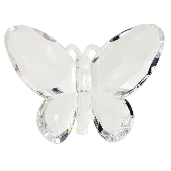 Sparkle Standing Butterfly Clear