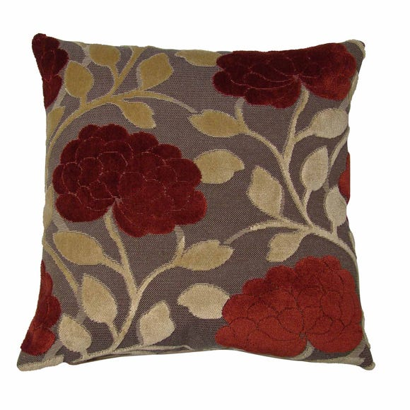 Embrace Cushion Cover Wine (Red)