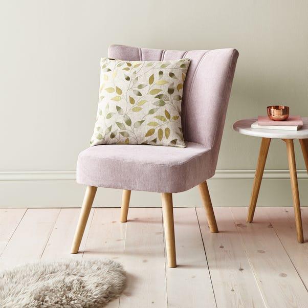 Shadow Leaves Cushion Green