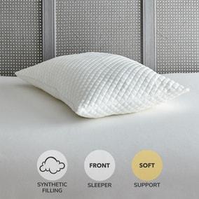 Huggable Soft-Support Pillow