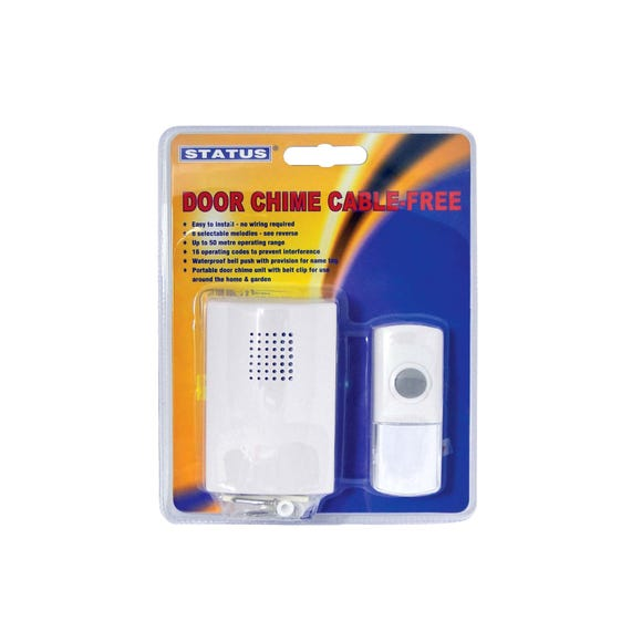 Status Doorchime Kit White