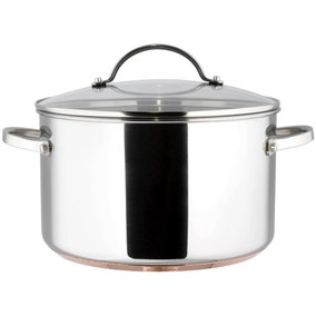 Infinity 6.2 Litre Copper Base Stock Pot