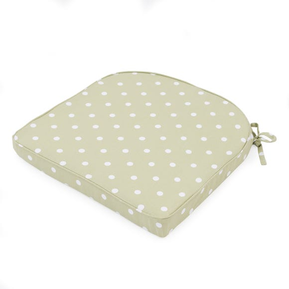 Sage Dotty Seat Pad Sage (Green)
