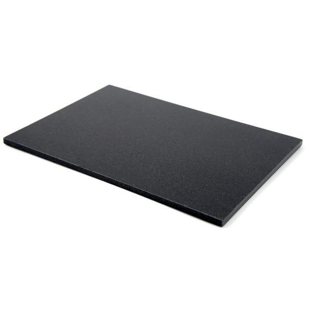 Black Granite Pair of Placemats Black