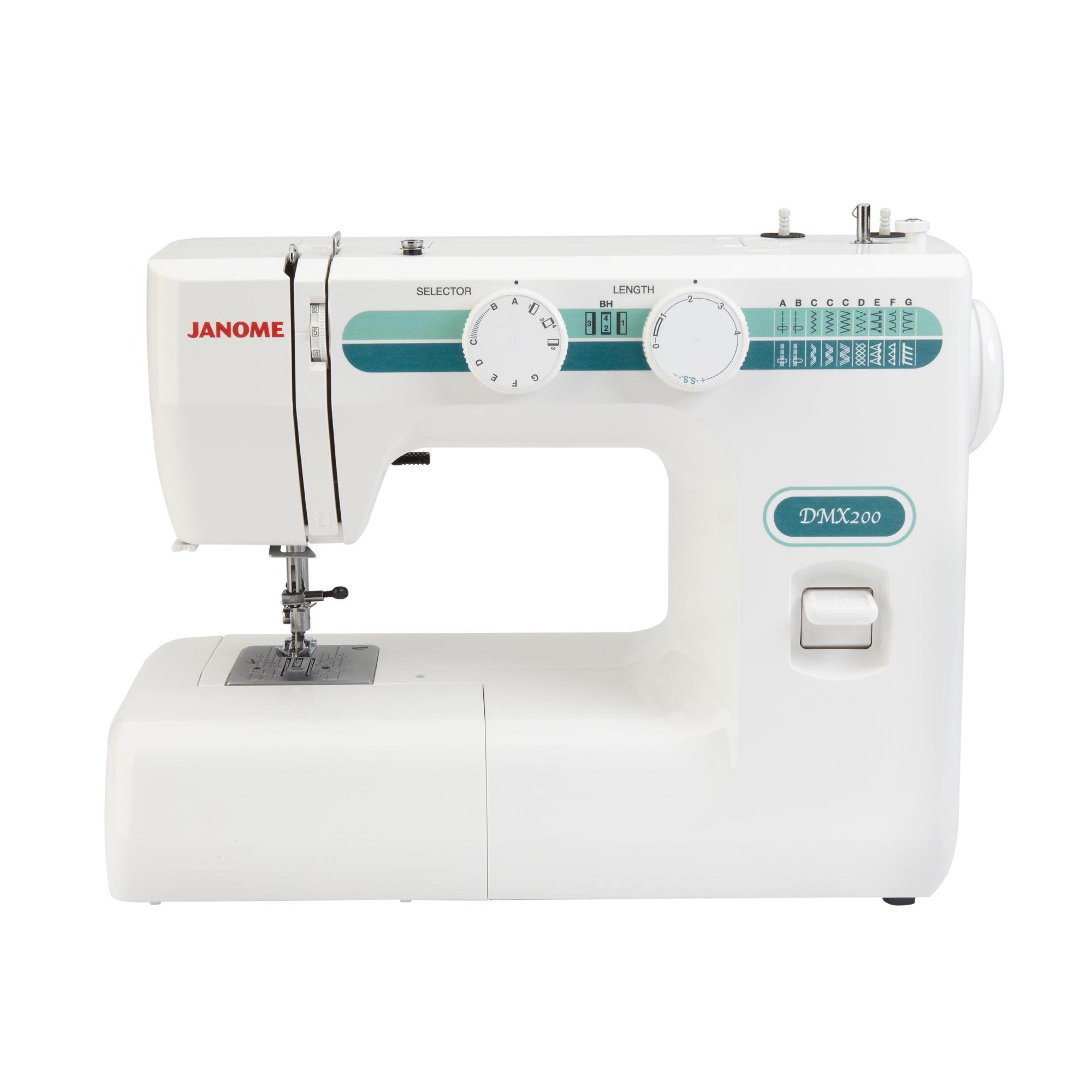 Janome DMX200 Sewing Machine White