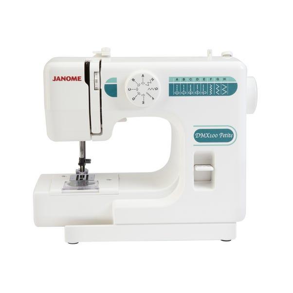 Janome DMX100 Petite Sewing Machine White