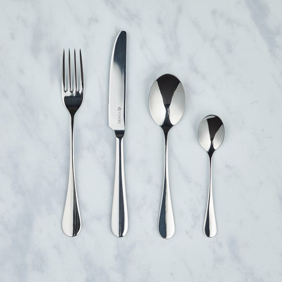 Viners Select 16 Piece Cutlery Set Silver