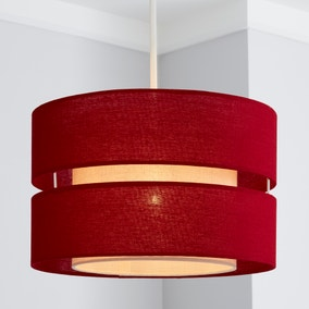 Frea Shade 30cm Drum Red Shade