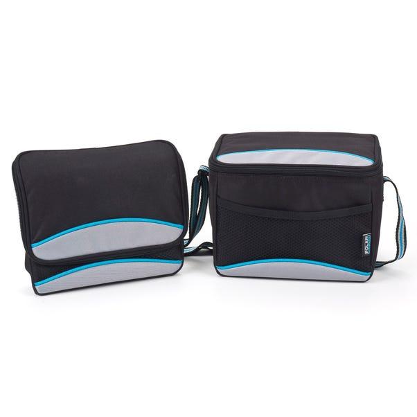 Polar Gear 5 Litre Personal Black Lunch Bag Black