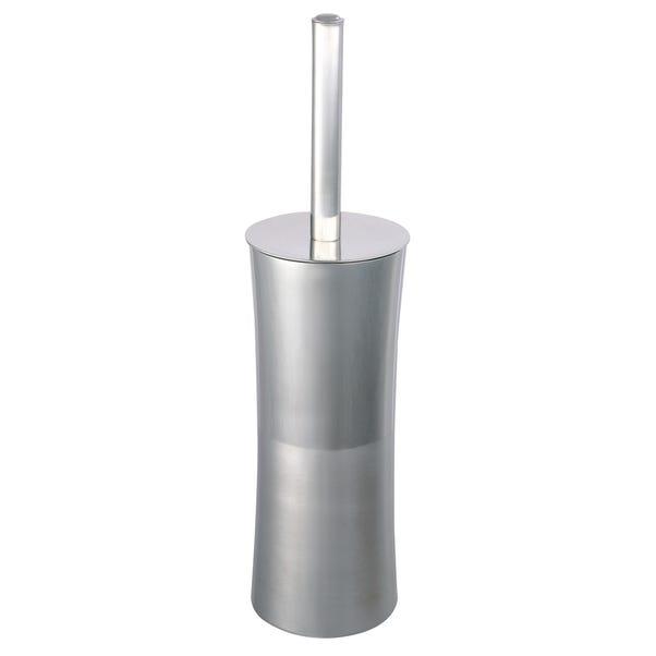 Ohio Toilet Brush Holder Silver