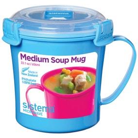 Sistema Soup Mug Assorted Colours