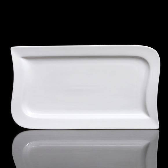 Rectangular Platter White undefined