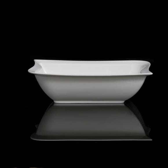 Chelsea Rectangular Serving Bowl White