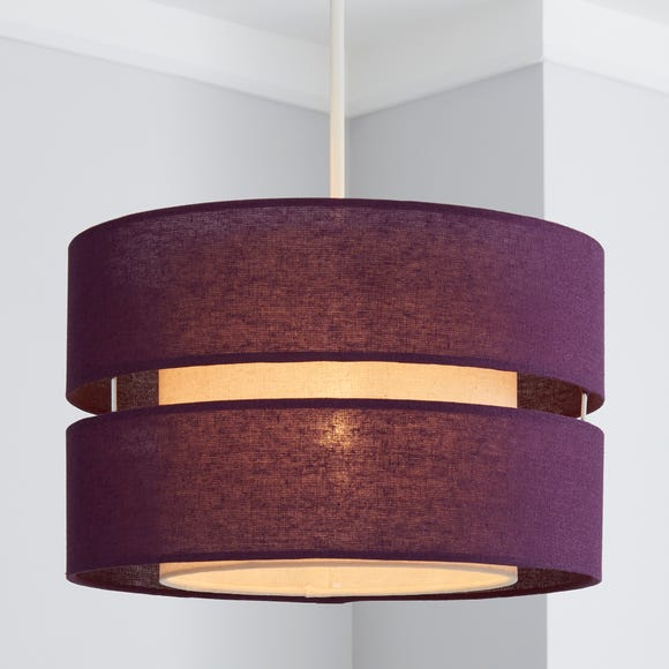 Frea Shade 30cm Drum Plum Shade Plum (Purple)