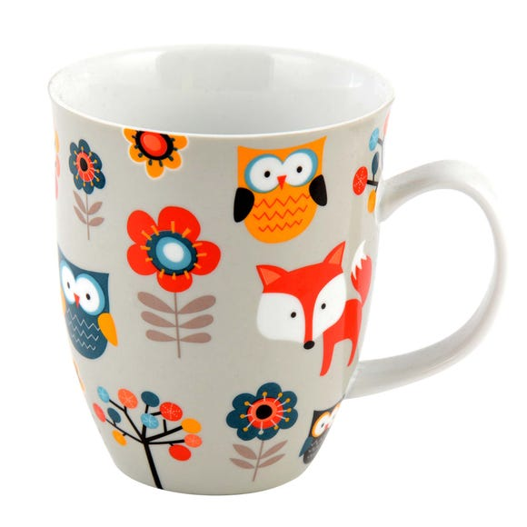Creature Comfort Mug MultiColoured