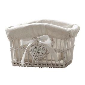 White Willow Small Basket