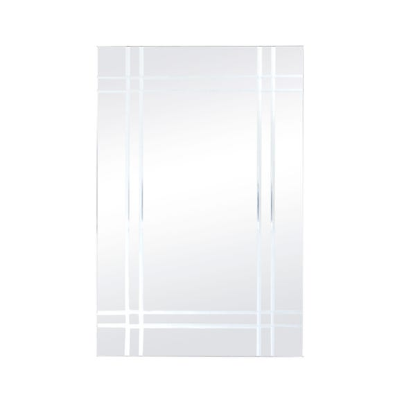 V Grooved Mirror Clear undefined