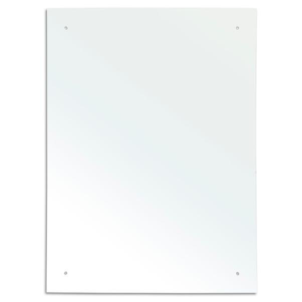 Plain Rectangular Mirror Clear undefined
