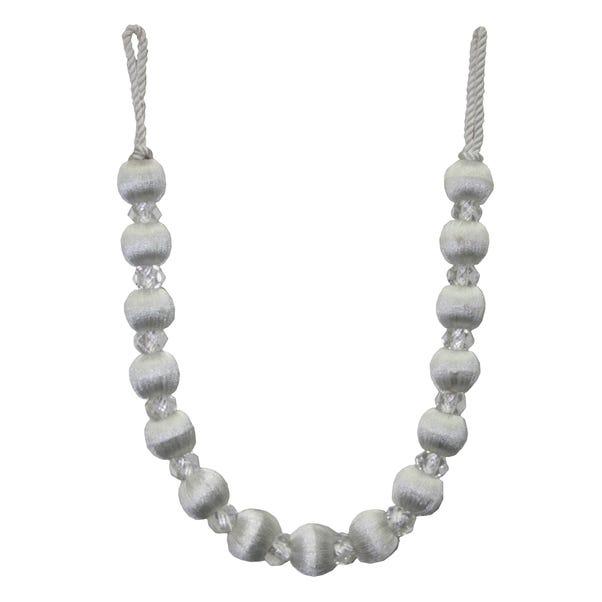 Opulence Ivory Crystal Tieback