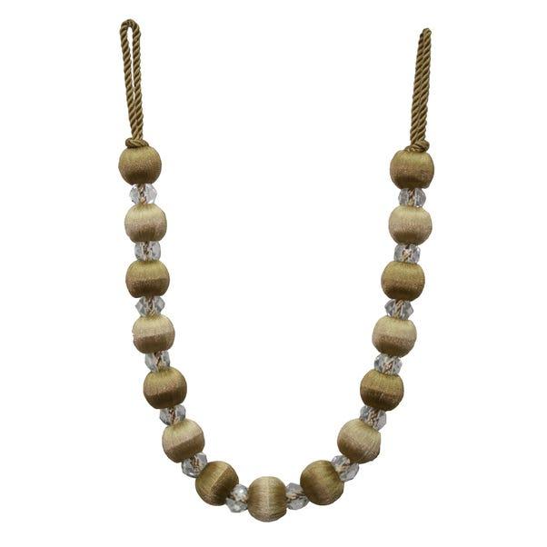 Opulence Crystal Tieback Gold