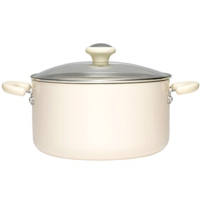 Prestige 6.2 Litre Create Almond Stock Pot