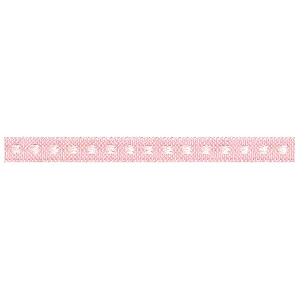 Box Stitch Ribbon Pink