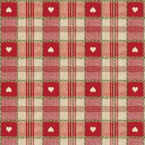 Red Hearts PVC