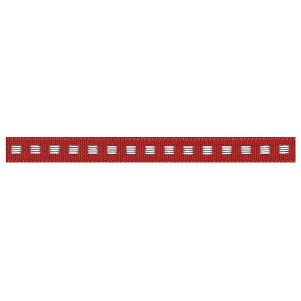 Box Stitch Ribbon Red