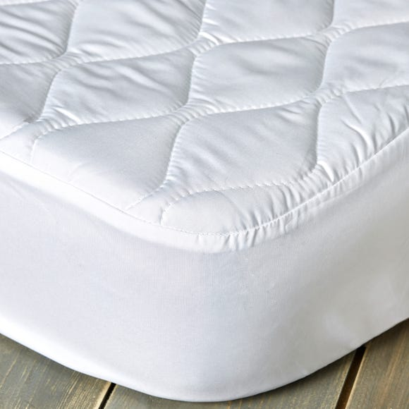 Fogarty Anti Allergy 30cm Mattress Protector White undefined