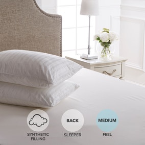 Dorma Supreme Fill Medium-Support Pillow Pair