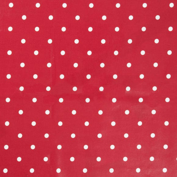 Dotty Red PVC