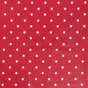 Dotty Red PVC