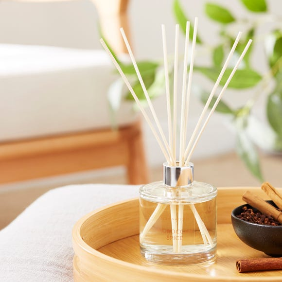 Wax Lyrical Moroccan Spice 200ml Reed Diffuser Orange