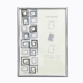 "Chrome Easy Photo Frame 32"" x 24"" (81cm x 61cm)"