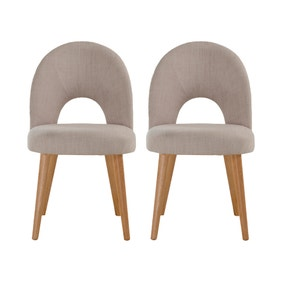 Skandi Set of 2 Dining Chairs