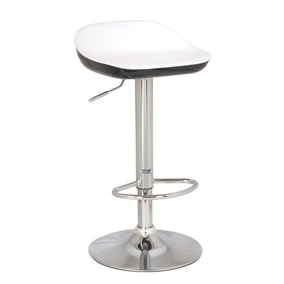 Roma Bar Stool Black