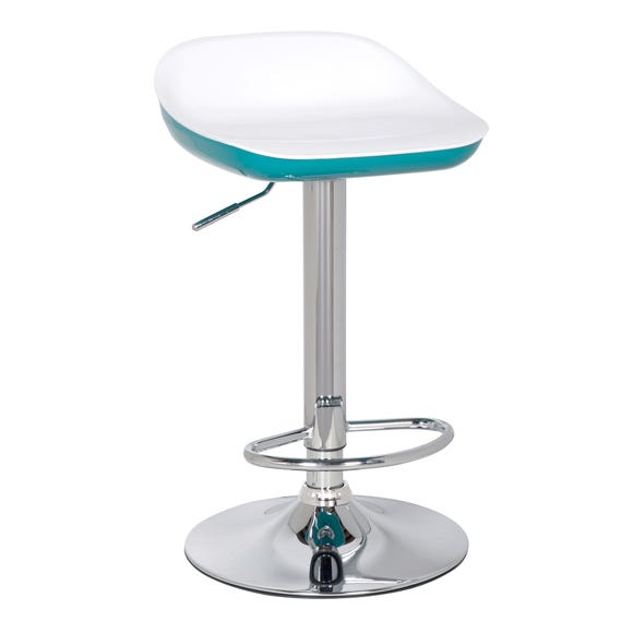 Roma Bar Stool Teal Teal (Blue)