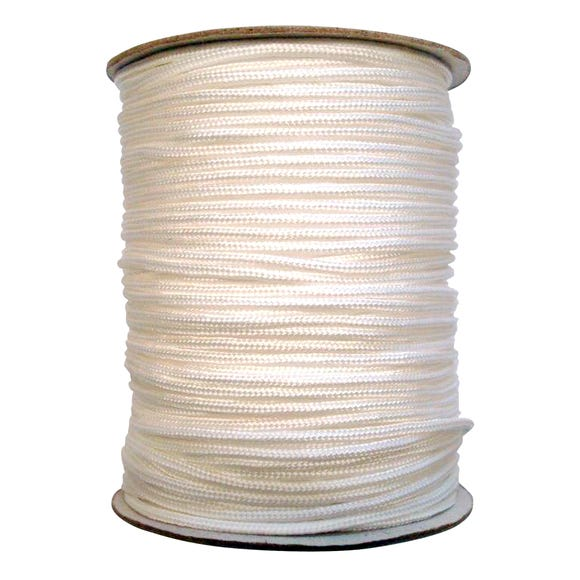 White 2.5mm Blind Cord White