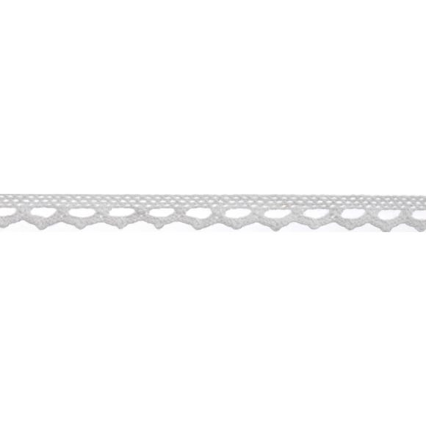 Bowtique White Point Lace Ribbon White