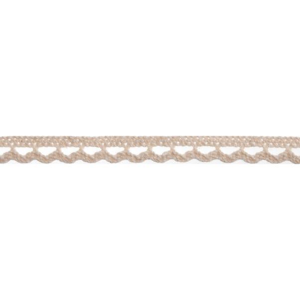 Bowtique Cream Lace Loop Ribbon Cream