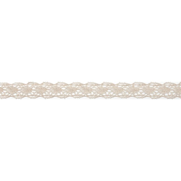Bowtique Cream Scalloped Lace Ribbon Cream